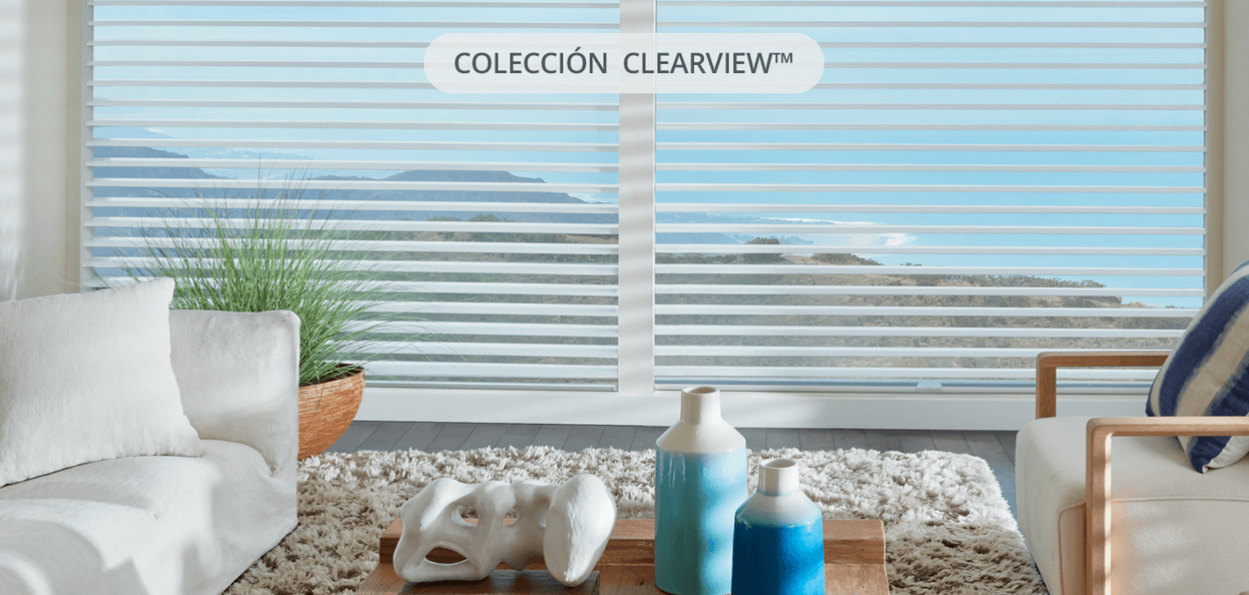 silhouette clearview ideal para living